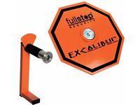 Full stop Excalibur wheel lock