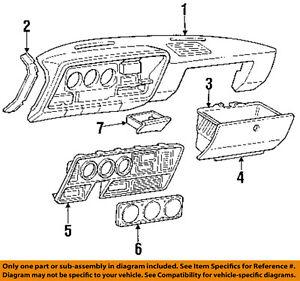 Dodge Chrysler Oem 89 93 Ramcharger Instrument Panel Dash Ashtray 4162629