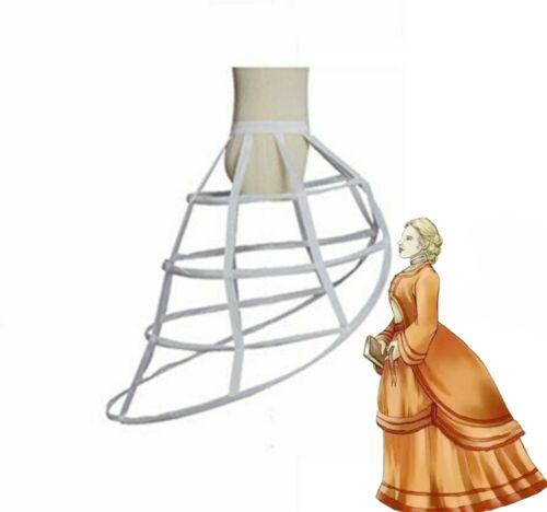 Victorian Back Bustle Crinolette Hoopskirt Costume Dress Petticoat Crinoline