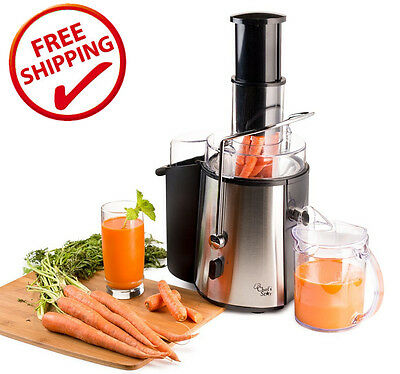 Stainless Insulate Electric Juice Extractor Machine Juicer Fruit Maker Apple Carrot