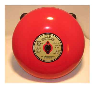 Fire Alarm Bell 6 Inch 120 Volt Includes Bell Back Box