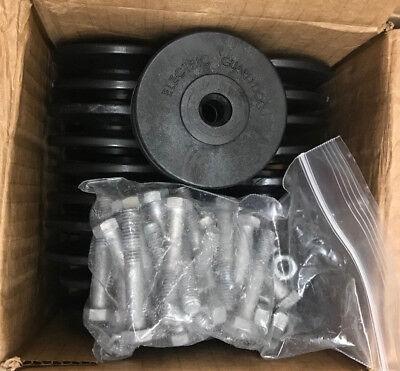 Electric Guard Dog  Single Steel Pole Kits - Donuts, Hex Nuts, Hex Cap Screws