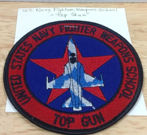 US Navy Fighter Weapons School Top Gun Movie FA-18 Hornet Fighter Plane