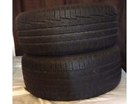 Full Set of 4 Nokian Winter Tyres WR A3 225/45/R17 XL (extra load). Nearly New! (7/8 mm tread)