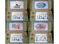 New Nintendo 2DS XL Console with 70+ games bundle 3DS