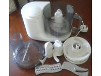 Kenwood food processor fp295 with dough tool, steel blade to chop meat, veg, nuts, - cake, pastry ..