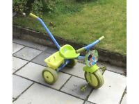 Toddlers Pedal Tricycle Push Along
