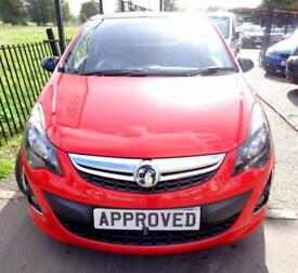 VAUXHALL CORSA 1.2 LIMITED EDITION 3d 83 BHP Apply for finance On (red) 2014