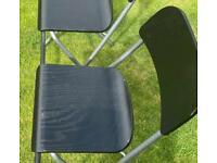 IKEA black kitchen stools