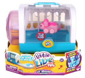 LITTLE LIVE PETS MOUSE PLAYSET AND 2 x MOUSE