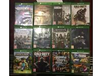 XBOX One Games Lot for Sale