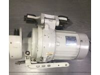 INDUSTRIAL SEWING MACHINE USED CLUTCH MOTOR, FULLY SERVICED AND TESTED