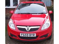Vauxhall Corsa 1.2 Active 3dr A/C Red