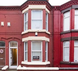 Silverdale Ave, L15 7EY. Newly renovated 3 bedroom house for rent.