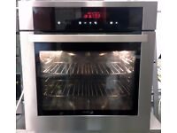 Fagor FSO1700X Pyrolytic Electric Built In Single Oven In Stainless Steel