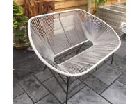 Retro Style Bench, Patio Or Conservatory, New & Unused