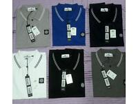 STONE ISLAND POLOS S M L XL WHOLESALE ONLY