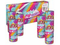 Party Popteenies Surprise Poppers 6 Pack, Series 1, Brand New, Sealed