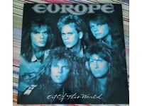 Never played Vinyl - Amazing EUROPE's Lp Album OUT OF THIS WORLD of Europe band, unused. Rock album