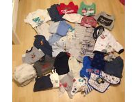 Large bundle of boys clothes 12-18 months (see all pics)