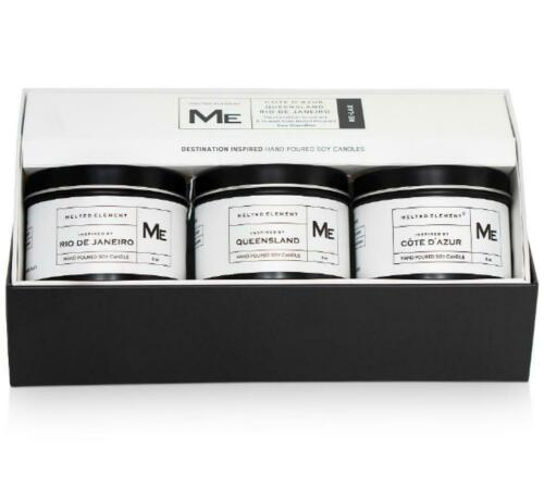 Melted Element 3-Pc.Relax Travel Candle Gift Set
