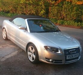 Audi A4 2.0tdi S line cabriolet - low miles - mint condition- lovely all round