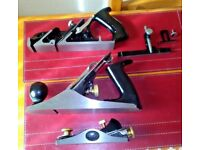 NEW AND BOXED Professional 3 PC WOOD WORKING Plane SET NEW BOXED