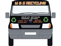 We want your scrap car or van todayfor cash