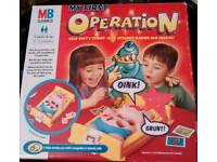 My 1st operation game