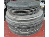 Stone Cutting Disc's various sizes and thickness's x 44