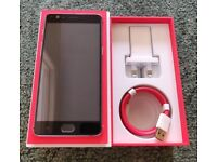 OnePlus 3 64Gb great condition, professionally CHECKED, unlocked mobile 6Gb RAM +case +box +more