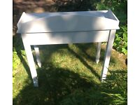 Vintage Hand-painted Shabby Chic Console/Dressing Table/Desk