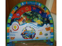 Baby Playmat, Musical Activity Gym stunning Ocean Sealife style