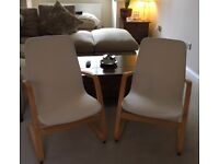 2 IKEA Poang chairs and covers £50