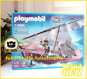 Playmobil 5901 Prirate Ghost Ship Playset Toy