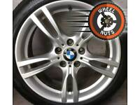 "18"" Genuine BMW M Sport 3 ser staggered alloys perfect cond match premium tyres."