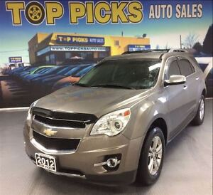 2012 Chevrolet Equinox LTZ, LEATHER, BACK UP CAMERA, ALLOY WHEEL