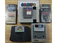Gamepo games nintendo nes snes gamecube N64