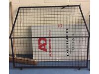 Bulkhead and cage door