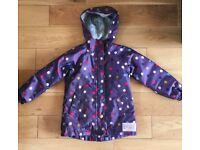 Joules waterproof Coat/jacket age 4/5