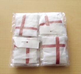 Pack of 12 England Sweatbands. Brand New in Cellophane