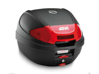 GIVI E300N2 Topbox Case with Top Box Monolock Fitting Plate (As New)