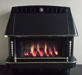 Robinson Willey Firecharm RS Balanced Flue Gas Fire ( Black )