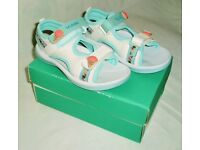 Sandals – one pair of New Clarkes sandals – size 8.5 UK 26 Euro