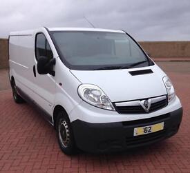 62 reg Vauxhall vivaro 2900 cdti lwb