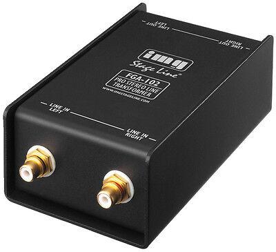 IMG Stage Line  FGA-102 Massefilter PC Laptop MP3 Entstörfilter Brummschleifen