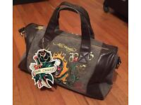 Brand new with tag. Men's Ed Hardy duffle bag / weekend bag.
