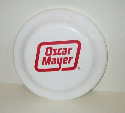 VINTAGE OSCAR MAYER HOT DOGS & MEAT COMPANY PROMO FRISBEE FLYER DISC TOY 1980'S