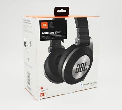 JBL Synchros E50 BT - schwarz/black - Bluetooth - Headset Kopfhörer - Neu & OVP