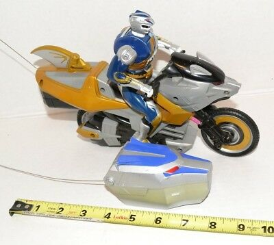 Power Rangers Wild Force LUNAR WOLF Savage Racer Cycle Remote Control R/C Works! for sale  Shipping to India